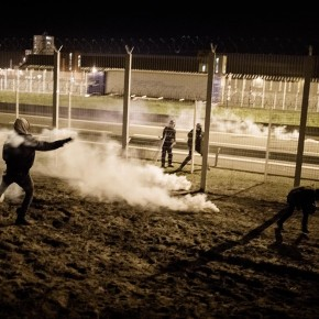 Photo essay on Calais Jungle in Helsingin Sanomat.