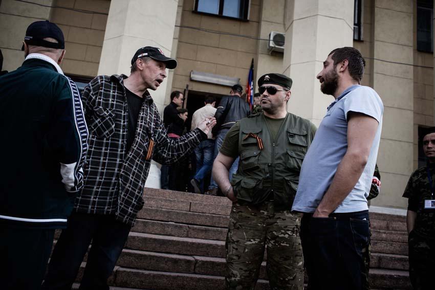 occupation of donetsk tv station