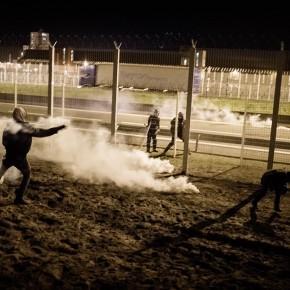 Photo essay on Calais Jungle in Helsingin Sanomat.