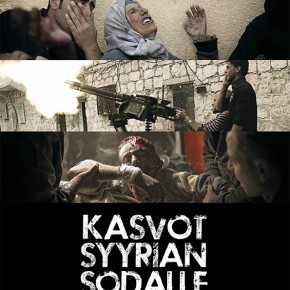 "Proud to present Syria documentary ""Kasvot Syyrian Sodalle"" tonight at 10pm (Finland only)"